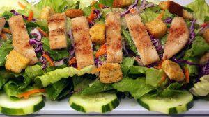 Three-Restaurant Health Food Franchise